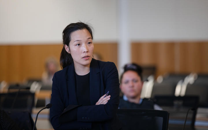 Hannah Kim, the lawyer acting for Cripps and Bassett.