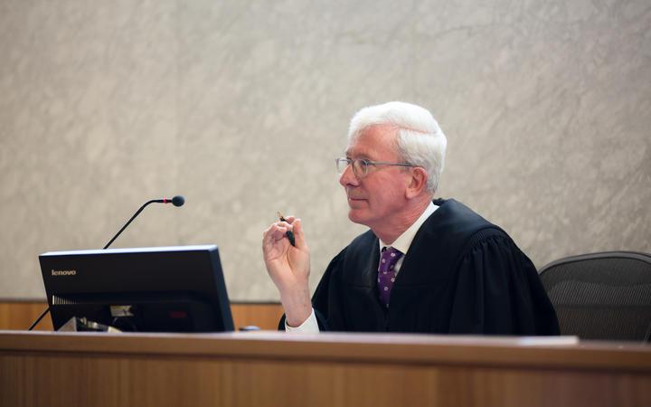 Manukau District Court judge David McNaughton