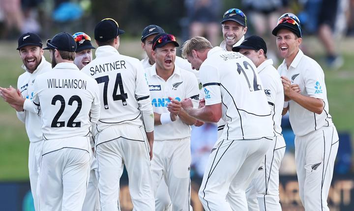 Black Caps, New Zealand cricket test team.