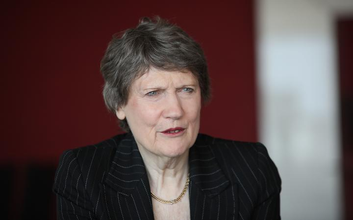 Former Prime Minister of New Zealand, Helen Clark in Turkey