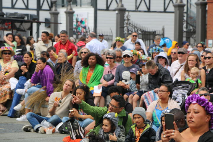 Organisers say around 15,000 people attend the Wellington Pasifika Festival each year. 23 January 2021.