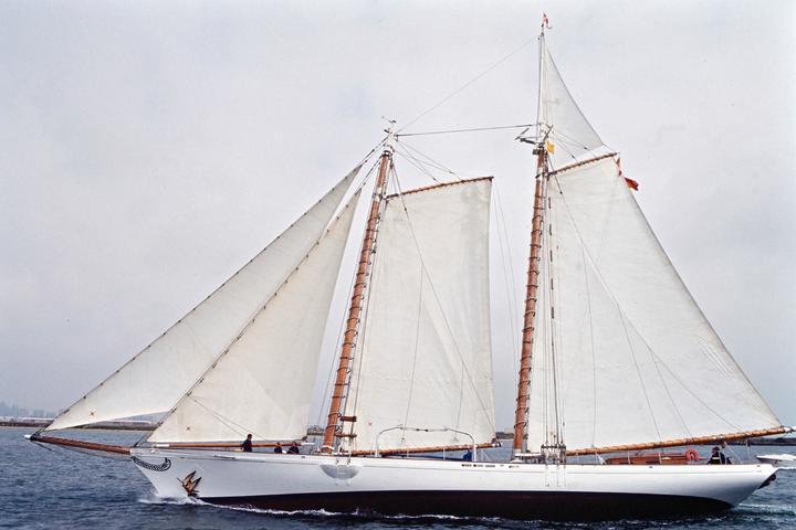 """Replica of 'The America"""" schooner"""