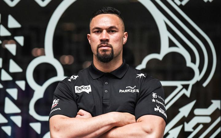 Joseph Parker during a media session to announce a change of date for the Parker v Fa heavyweight boxing match, now scheduled for December 12. Spark City, Auckland. Thursday 29 October 2020. © image by Andrew Cornaga / www.photosport.nz