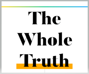 Logo for Stuff's factchecking section The Whole Truth.