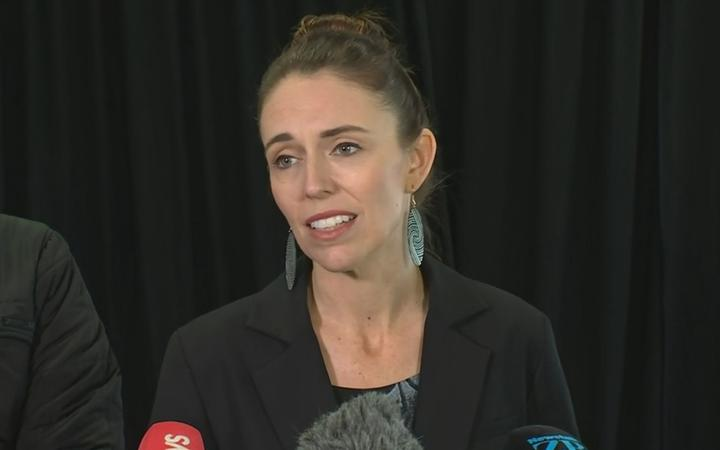 NZ Prime Minister Jacinda Ardern speak after the death of Prince Philip.