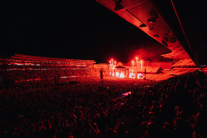 Eden Park was sold out for the first New Zealand act to headline a concert at the stadium.