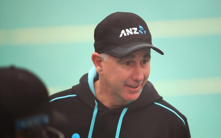 Gary Stead the New Zealand Blackcaps head coach.