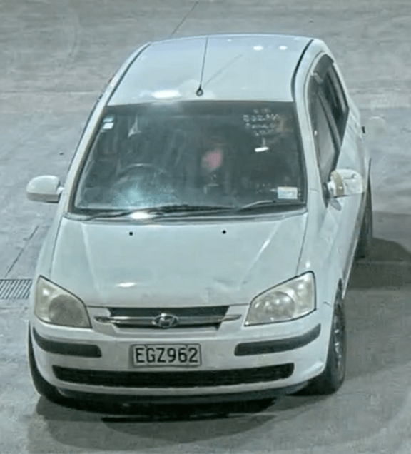 Police are seeking information about this Hyundai station wagon.