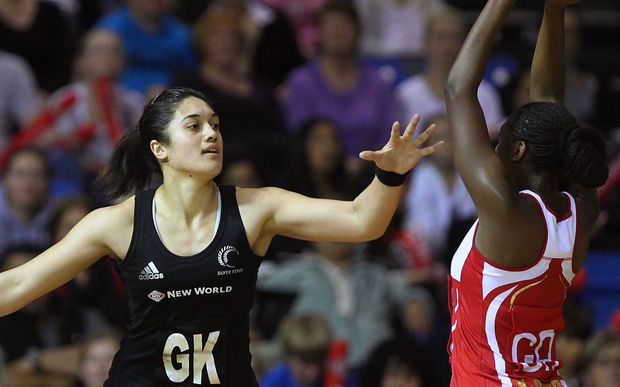 Sulu Tone-Fitzpatrick (on her Silver Ferns in 2011) is now trying her hand at sevens rugby with Samoa.