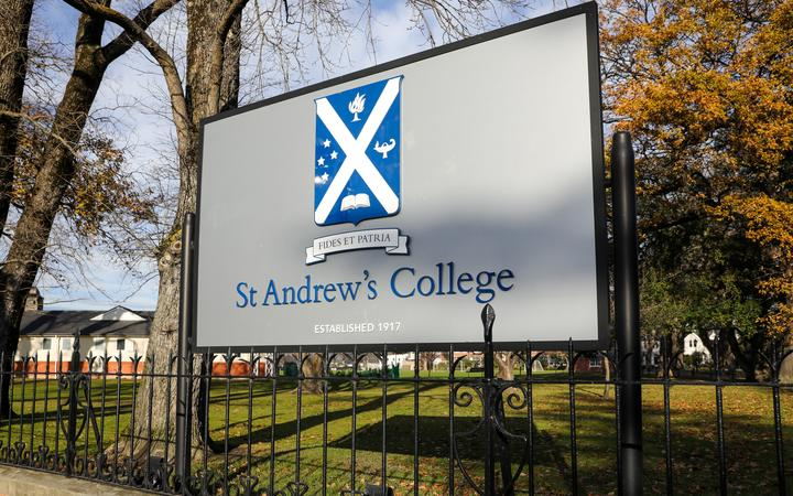 St Andrew's College in Christchurch.