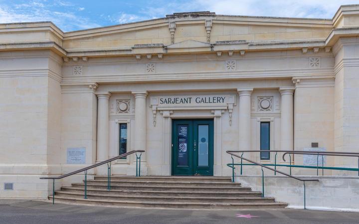 Sarjeant gallery at Whanganui.