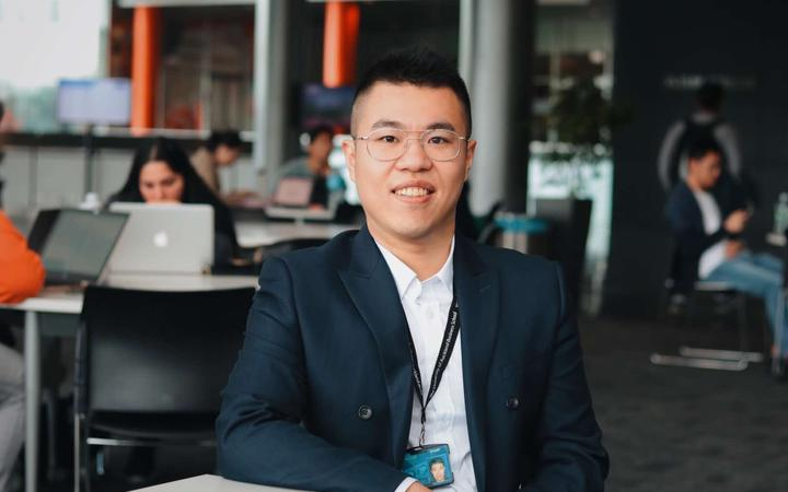 Johnnie Wang, a PhD student from University of Auckland, says not allowing students in will not only damage the country's economy but also its academic future.