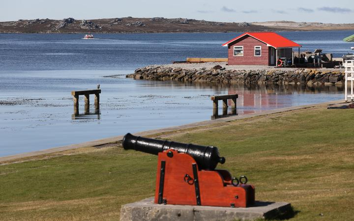 A photo from the Falkland Islands