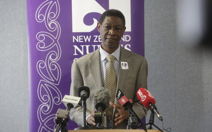 Nurses Union chief executive Memo Musa.