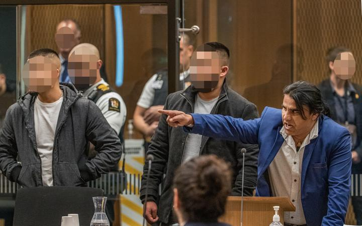 Abdul Aziz Wahabzadah - victim impact statement.  PHOTO: JOHN KIRK-ANDERSON  Sentencing for Brenton Tarrant on 51 murder, 40 attempted murder and one terrorism charge.