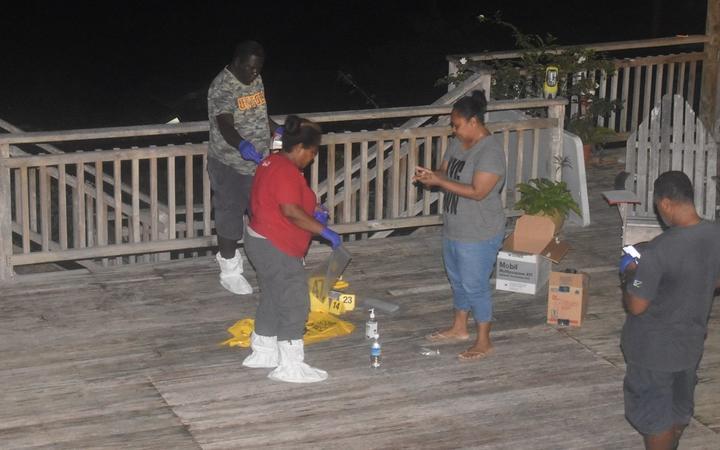 Solomon Islands police investigation