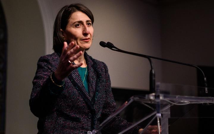 File photo of New South Wales Premier Gladys Berejiklian.