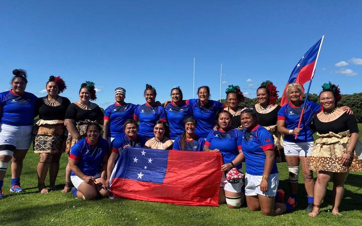 Samoa celebrates taking another step closer to RWC 2021