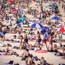 Sydney logs the hottest night of November on record
