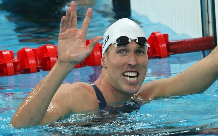 US swimmer Klete Keller.