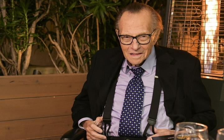 Veteran broadcaster Larry King.