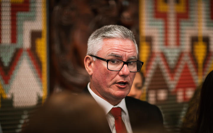 Māori Crown Relations: Te Arawhiti Minister Kelvin Davis speaking to media after the virtual National Iwi Chairs Forum on 5 February, 2021.
