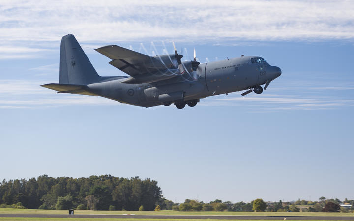 A Royal New Zealand Air Force C-130 Hercules will fly to Fiji.