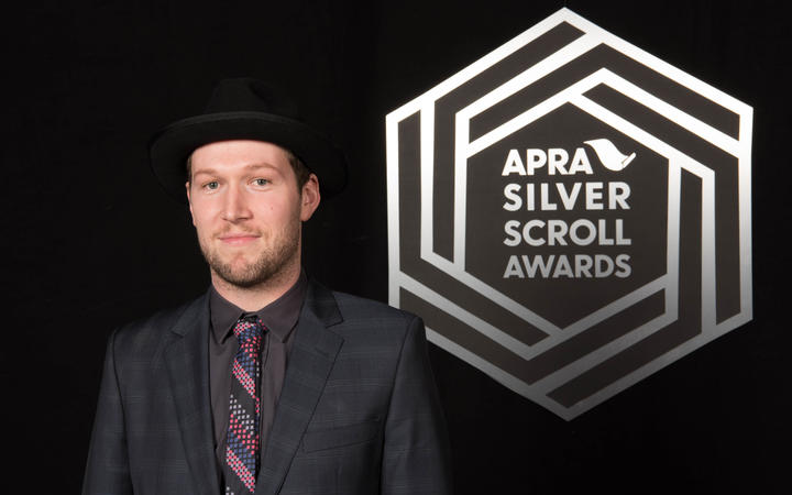 Thomas Oliver at the 2016 Apra Silver Scrolls