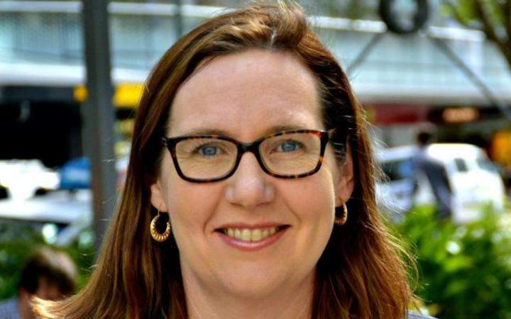 Wellington City Councillor Fleur Fitzsimons
