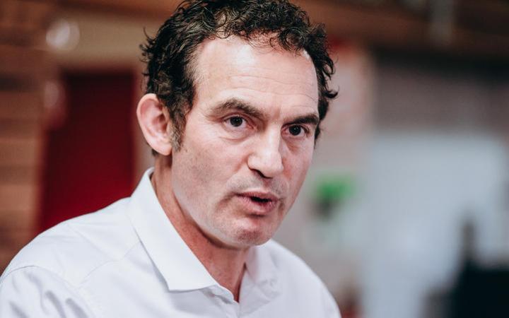 Minister of police Stuart Nash.
