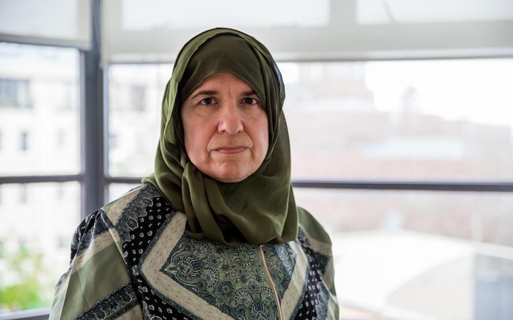 Aliya Danzeisen, Assistant Co-ordinator of the Islamic Women's Council