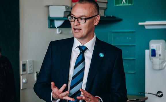 Health Minister David Clark