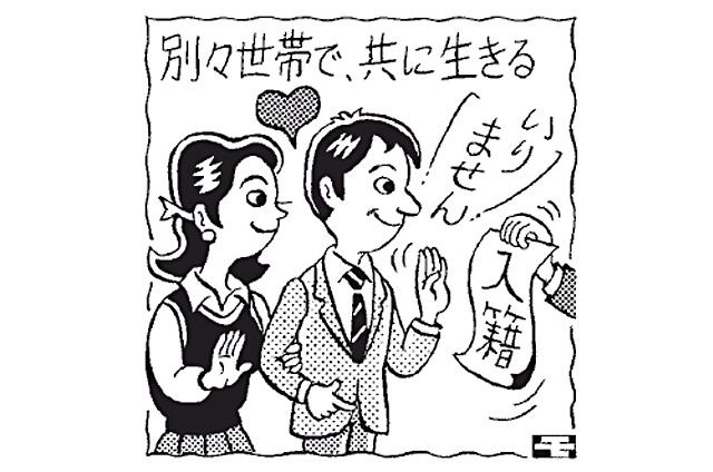 ニュースワード「事実婚カップル」