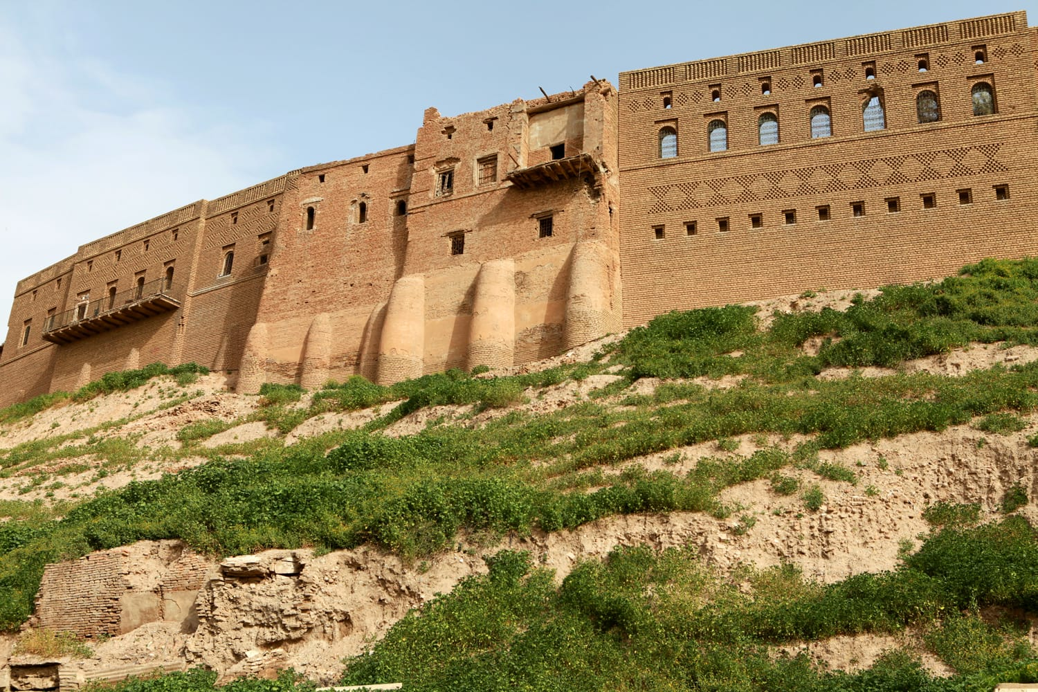The Castle of Erbil, Iraq.