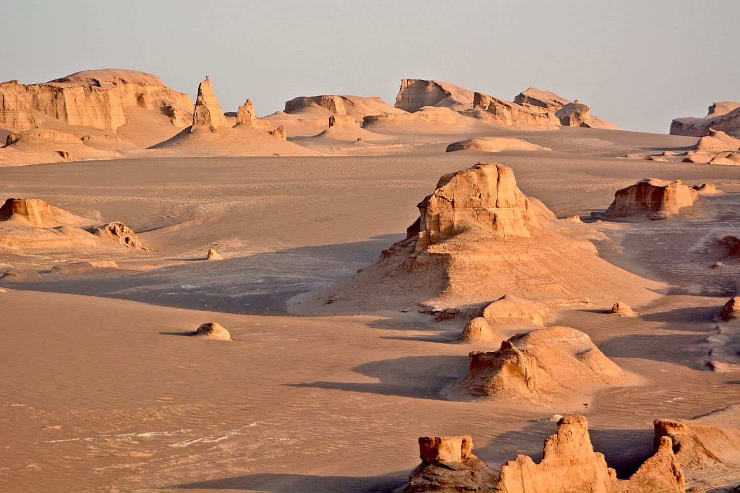 Dasht-e-Lut, Lut desert, hottest desert in the world, Iran