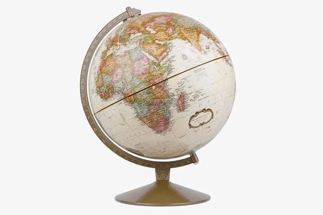 Antique Ocean Desk Globe