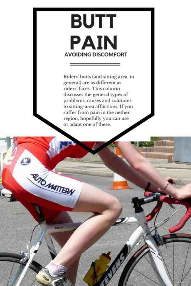 Pinterest Bicycle butt pain solutions