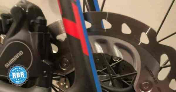 bent disc rotors road bike