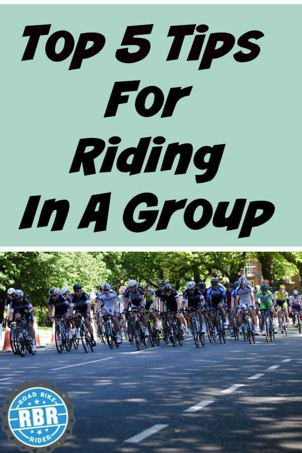 Pinterest top 5 tips bike riding in a group