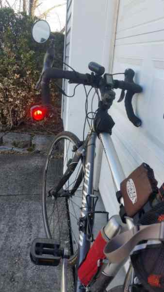 Using a 1200-Lumen Bicycle Taillight in Daylight for Safety