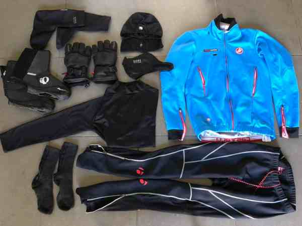 20 degrees outfit for road cycling cold