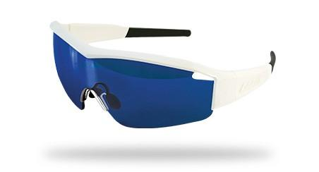 Lazer Solid State SS1 Sunglasses White and Blue.web
