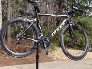November Rail 52 Wheels wheels on bike.web