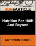 Nutrition for 100K and Beyond