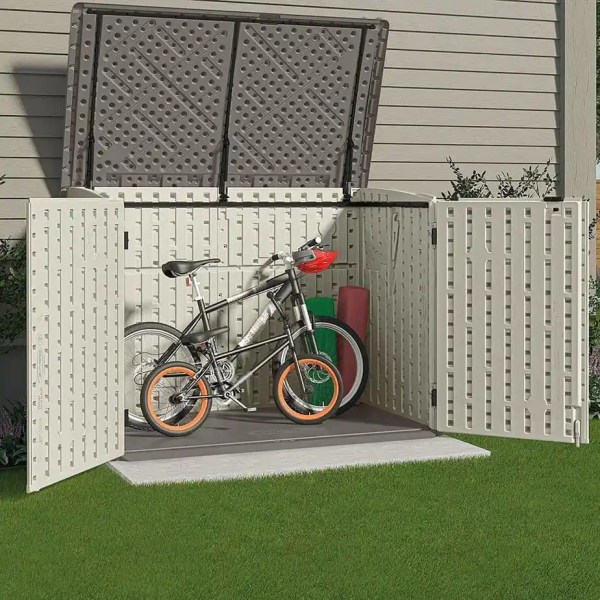 suncast bike shed