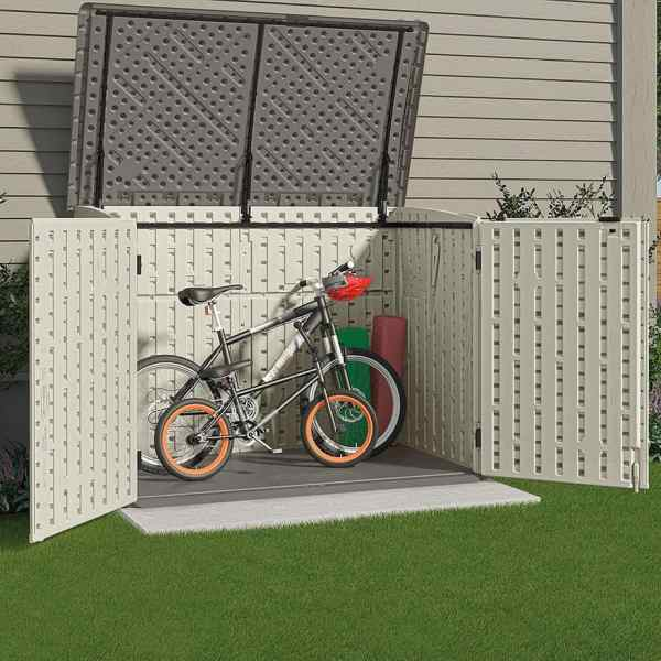 best outdoor bicycle storage sheds road bike rider. Black Bedroom Furniture Sets. Home Design Ideas