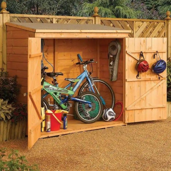 bosmere wood bike shed