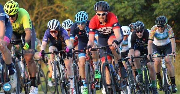 Road bike riders cycling
