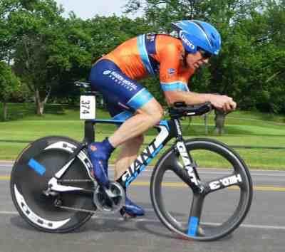 Peter Wimberg cycling