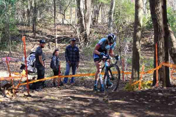 cyclocross spectators bike race